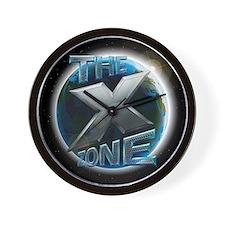X ZONE Earth Logo Wall Clock