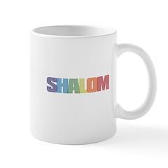 Shalom Colored Mug