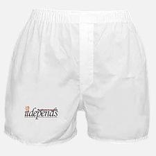 It Depends! Boxer Shorts