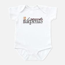 It Depends! Infant Bodysuit