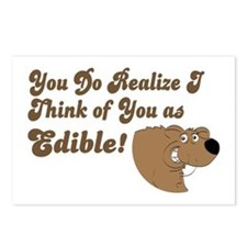 Grizzle Bear Postcards (Package of 8)