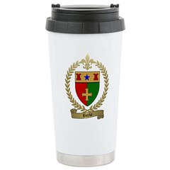 BURKE Family Crest Travel Mug