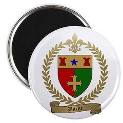 """BURKE Family Crest 2.25"""" Magnet (100 pack)"""