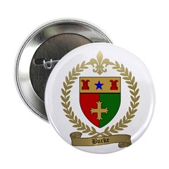 """BURKE Family Crest 2.25"""" Button (100 pack)"""