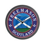Scottish Masons Wall Clock