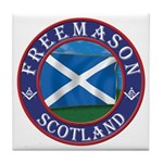 Scottish Masons Tile Coaster