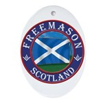 Scottish Masons Ornament (Oval)