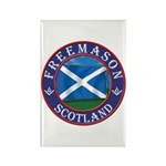 Scottish Masons Rectangle Magnet