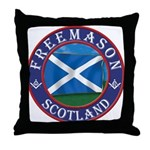 Scottish Masons Throw Pillow