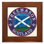 Scottish Masons Framed Tile