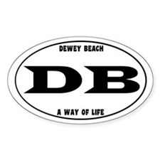 Dewey Beach Decal