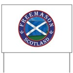 Scottish Masons Yard Sign
