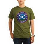 Scottish Masons Organic Men's T-Shirt (dark)