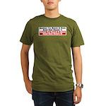 Better to Have a Gun Organic Men's T-Shirt (dark)