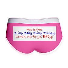 Cute Drilly spilly Women's Boy Brief