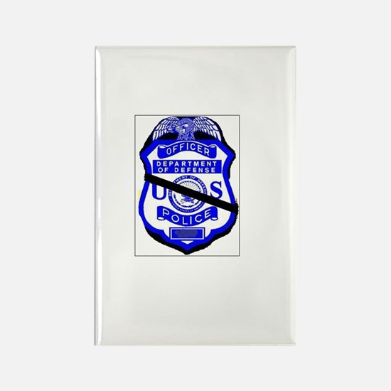 Cute Police memorial Rectangle Magnet
