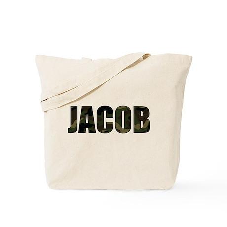 Camo Jacob Tote Bag