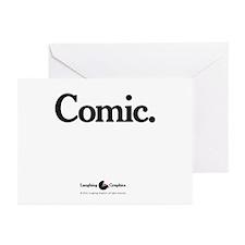 Comic Greeting Cards (Pk of 20)