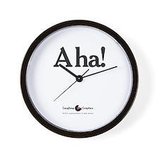 A ha! Wall Clock