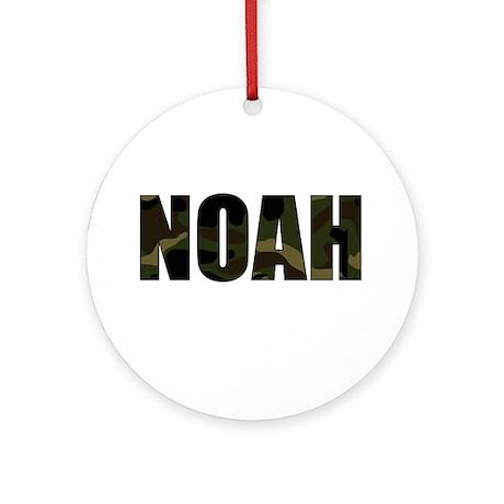 Camo Noah Ornament (Round)