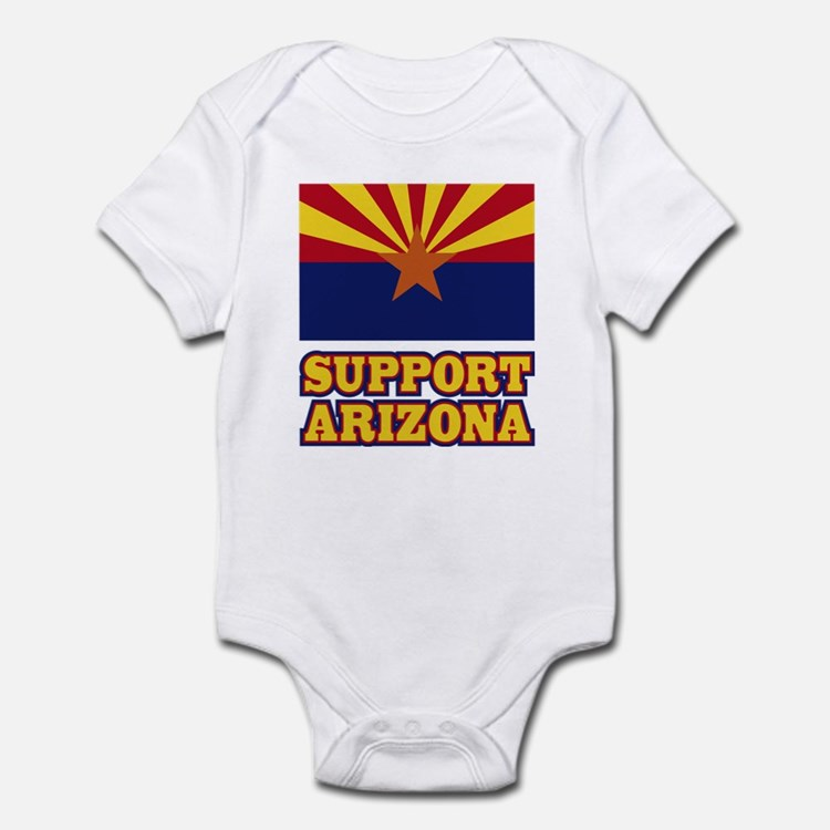 Support Arizona Infant Bodysuit