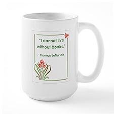 Jefferson On Books Mug
