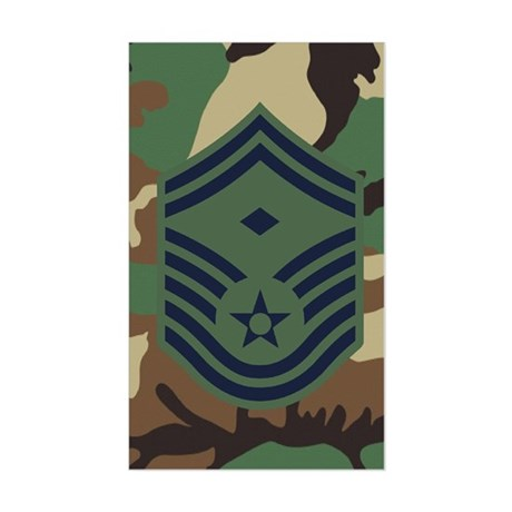 First Sergeant 4th Sticker (Rectangle)