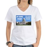 At Some Point Women's V-Neck T-Shirt