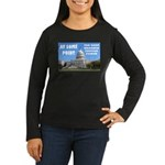At Some Point Women's Long Sleeve Dark T-Shirt