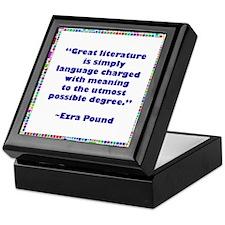 Great Literature Keepsake Box