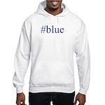 # blue Hooded Sweatshirt