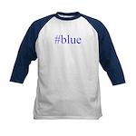# blue Kids Baseball Jersey