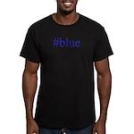 # blue Men's Fitted T-Shirt (dark)