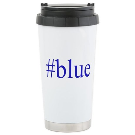 # blue Stainless Steel Travel Mug