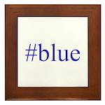 # blue Framed Tile