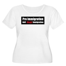 Pro Immigration Anti illegal T-Shirt