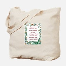 Childhood Spent With A Book Tote Bag