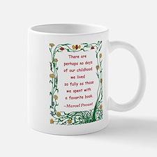 Childhood Spent With A Book Mug