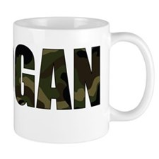 Camo Logan Small Mug