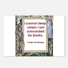 Surrounded By Books Postcards (Package of 8)