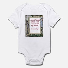 Surrounded By Books Infant Bodysuit