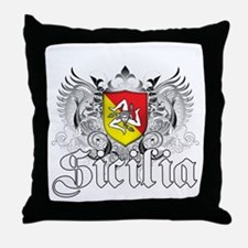 Sicilian Pride Throw Pillow