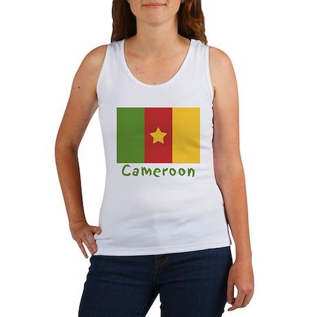World Cup Soccer Cameroon Women's Tank Top