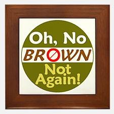 Anti BROWN Framed Tile