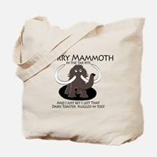 Worry Mammoth Tote Bag