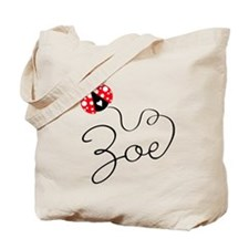 Ladybug Zoe Tote Bag