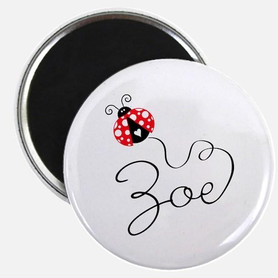 Ladybug Zoe Magnet