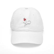 Ladybug Zoe Baseball Cap