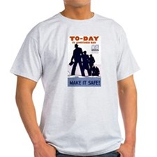 To-Day Ash Grey T-Shirt