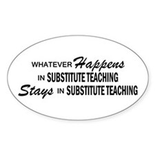 Whatever Happens - Substitute Decal